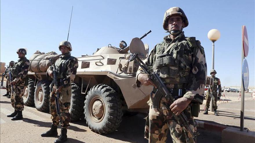 Muere un supuesto terrorista en una acción del ejército argelino, según el Ministerio de Defensa