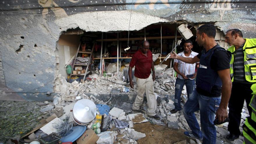 Los cohetes de Gaza dejan un reguero de miedos en Israel
