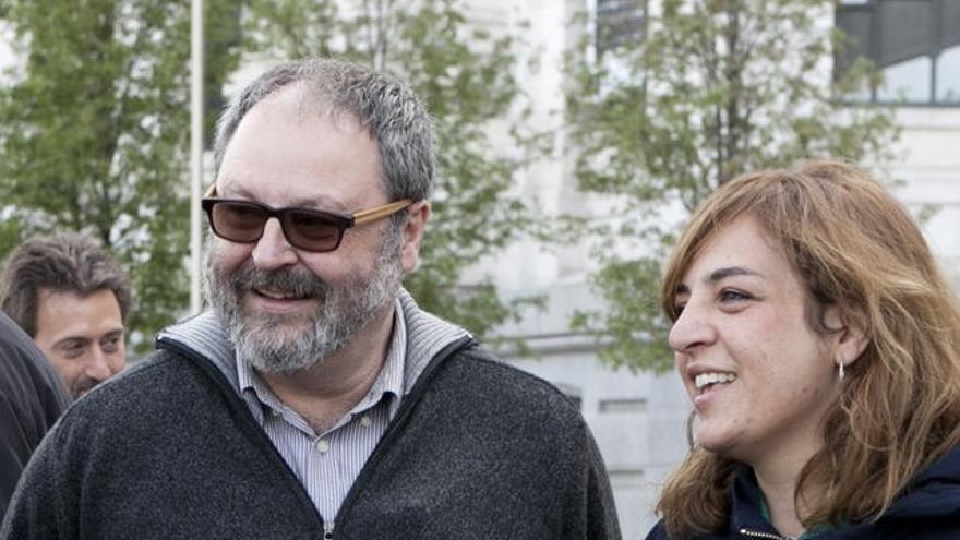 Celia Mayer y Javier Barbero, dos de los ediles que forman parte de Madrid 129