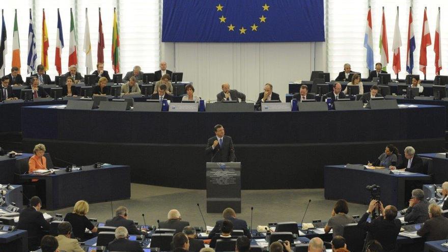Un debat al Parlament Europeu.