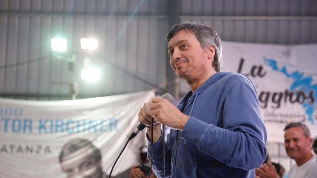 Máximo Kirchner, principal candidato a presidir el PJ bonaerense.