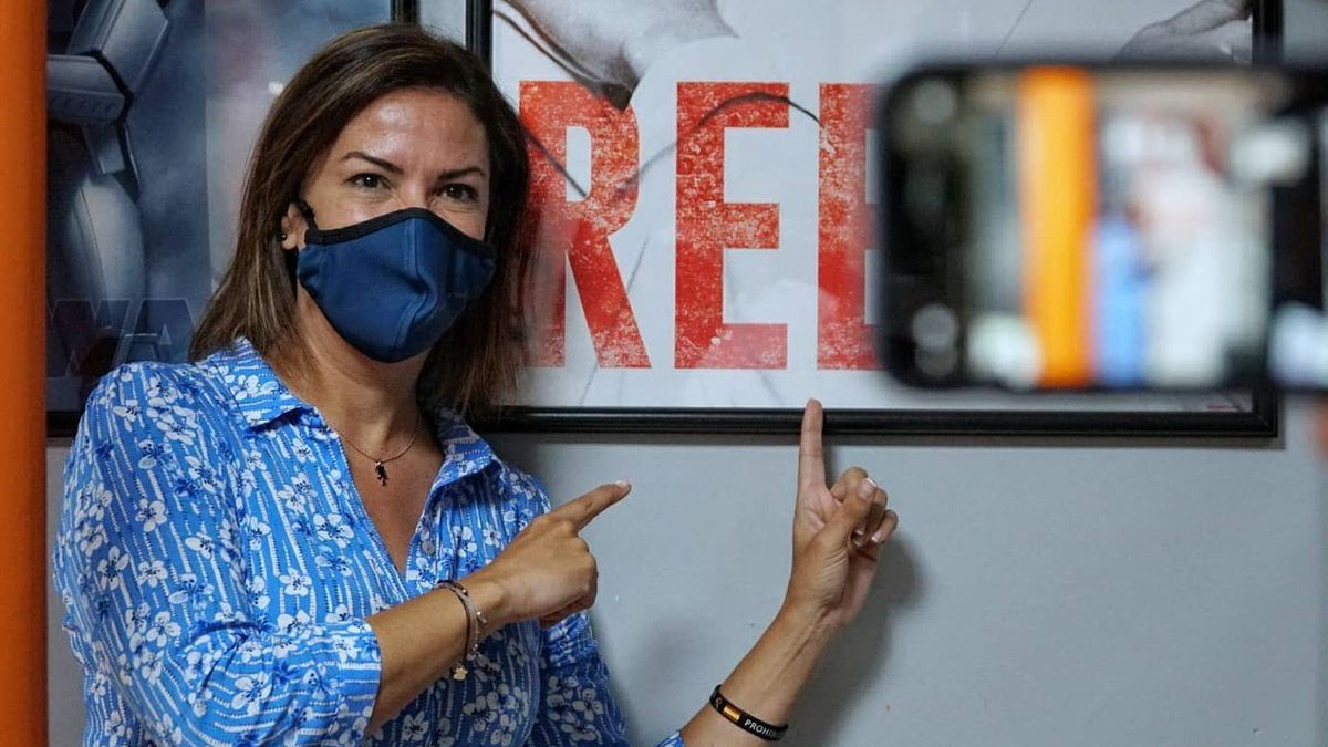 Evelyn Alonso, la concejala tránsfuga de Santa Cruz de Tenerife
