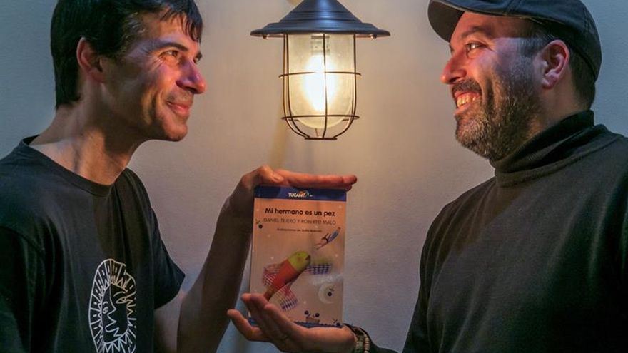 """""""Mi hermano es un pez"""", un cuento poético y esperanzador sobre los refugiados"""