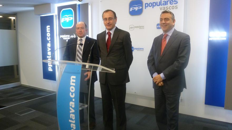 """PP dice que el acuerdo en Vitoria es un """"punto y seguido"""" para seguir negociando y dar estabilidad a Vizcaya y Álava"""