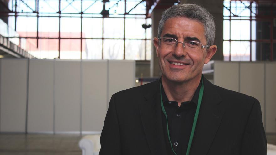 José del R. Millán coordina varios proyectos europeos para el desarrollo de interfaces hombre-máquina (Foto: Cristina Sánchez)