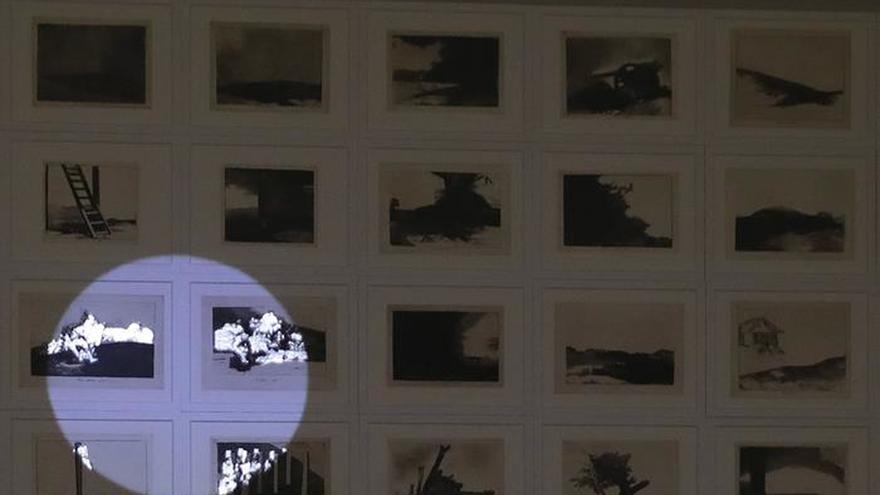 La artista iraní Farideh Lashai entra en el Prado para dialogar con Goya