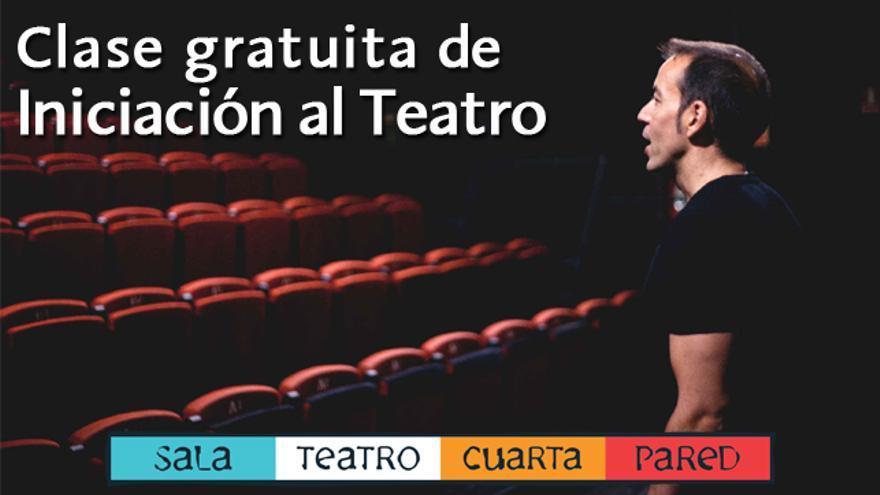 ¿Quieres disfrutar de una clase de iniciación al teatro?