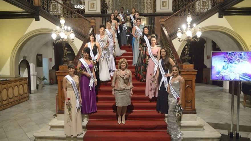 Candidatas a Renia del Carnaval de Las Palmas de Gran Canaria.