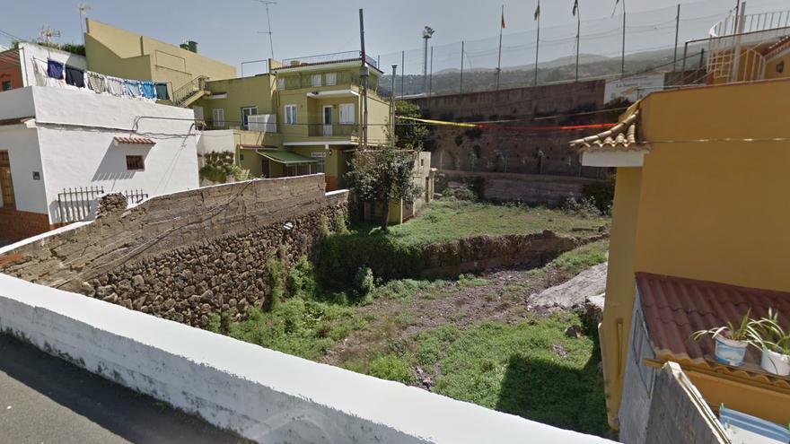 Barranco de La Raya, en Los Realejos