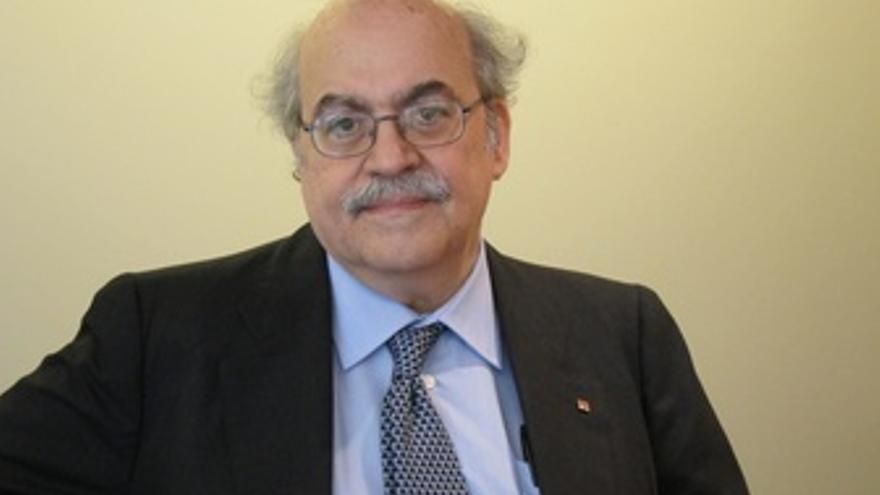 El Conseller De Economía Y Conocimiento, Andreu Mas-Colell