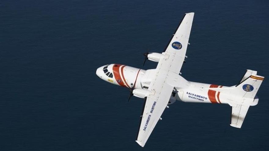 El avión Sasemar 103 de Salvamento Marítimo. (EUROPA PRESS)