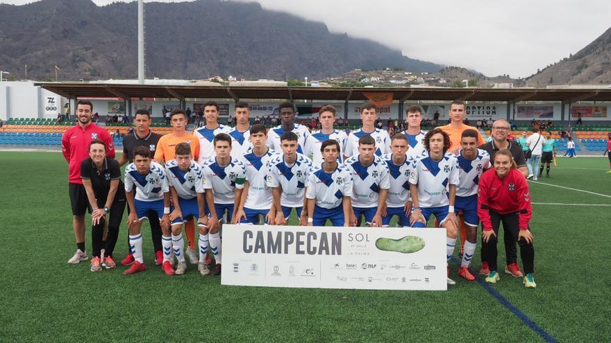 CD Tenerife Cadete, el equipo ganador.