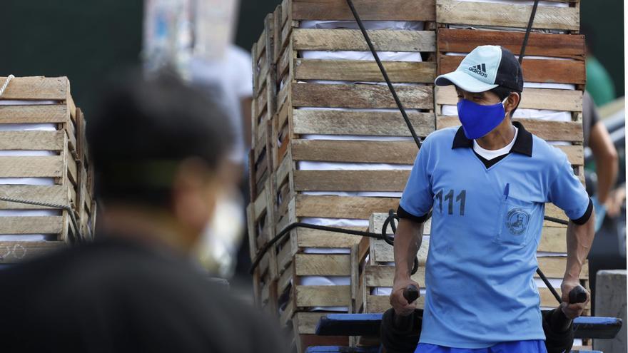 El desempleo en Perú sube a 8,8 % entre abril y junio, marcado por el confinamiento