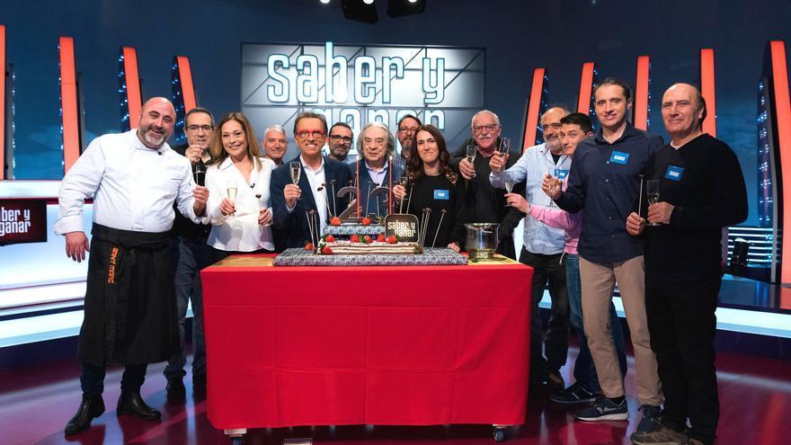 Los Magníficos de 2019, con el equipo de 'Saber y Ganar'