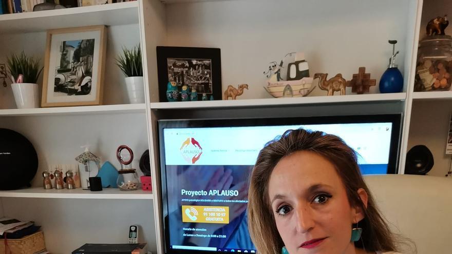 Rosa Becerril, psicóloga y fundadora de 'Proyecto Aplauso'