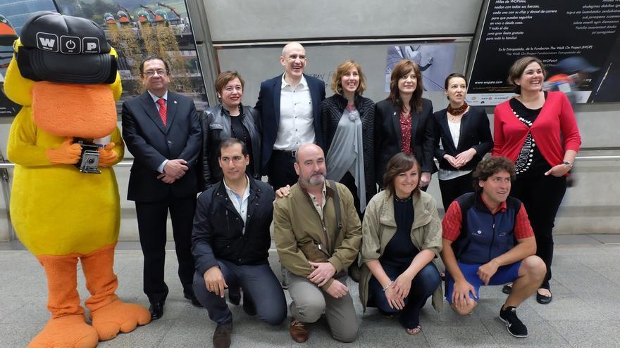 Metro Bilbao acoge una exposición con las fotos más singulares de la Estropatada