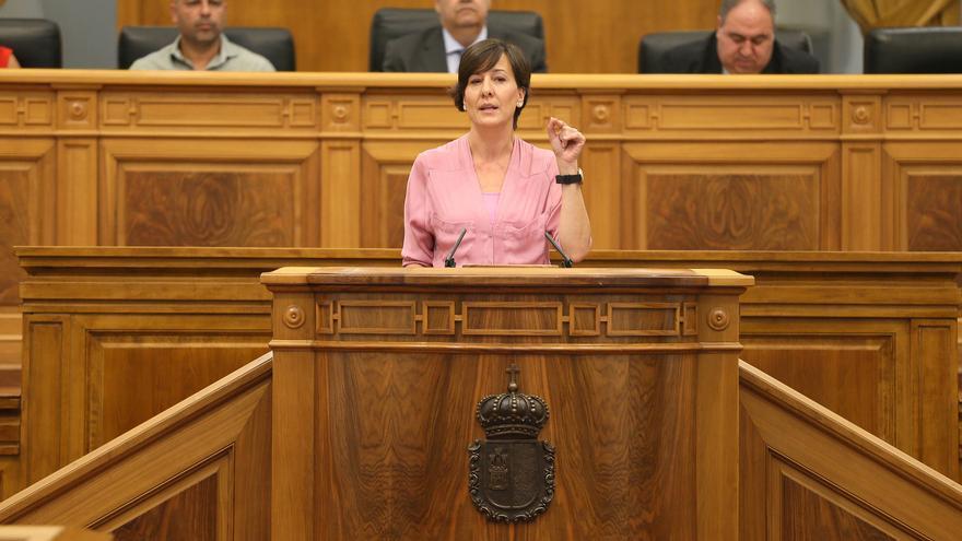 Blanca Fernández, comparecencia en el Pleno del 16 de julio de 2015