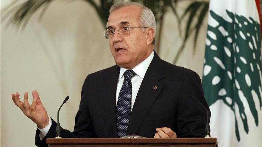 El presidente libanés espera que las promesas de ayuda a sirios sean reales