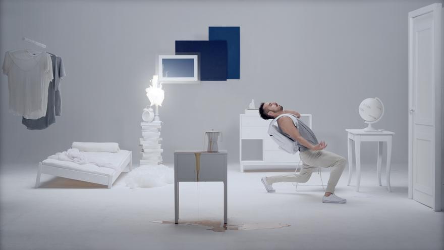 Imagen de una de las proyecciones de Zinetika