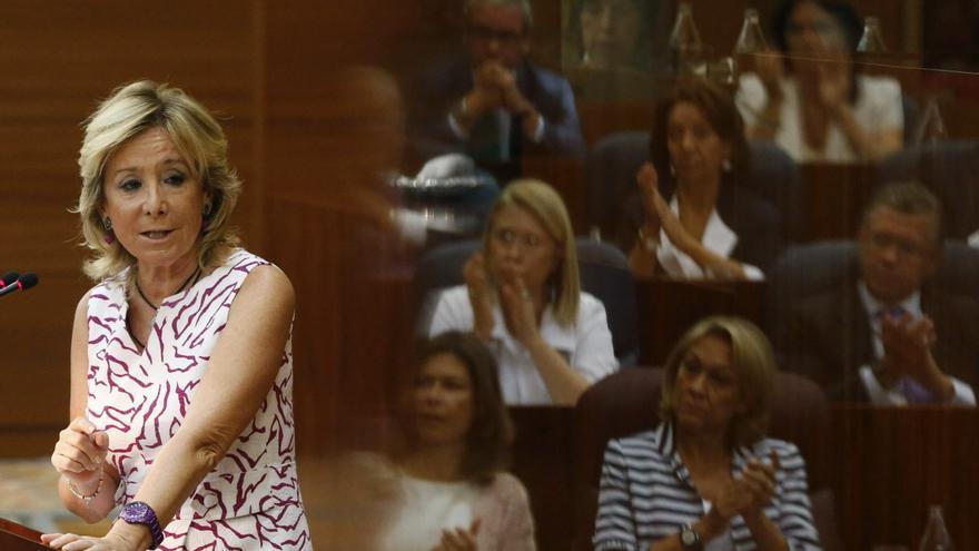 Aguirre y la oposición debaten sobre el estado de la región en la Asamblea