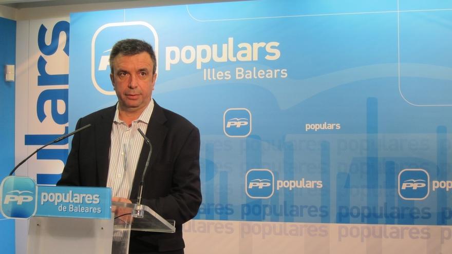Miquel Vidal, nuevo presidente interino del PP balear tras la dimisión de Bauzá