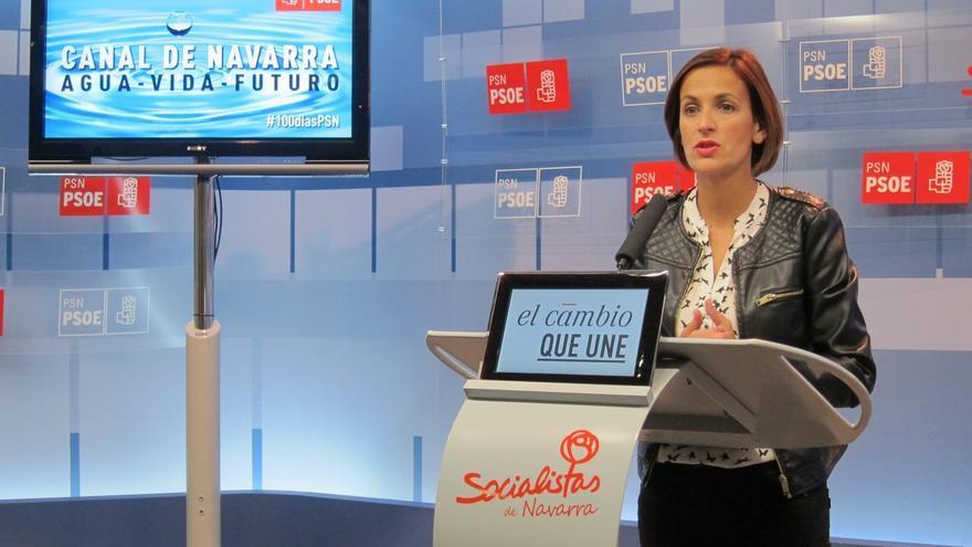 """Chivite (PSN), sobre la encuesta a escolares: """"Si el Gobierno de Navarra lo sabía, mal; y si no lo sabía, peor"""""""