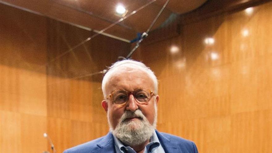 El compositor Penderecki destaca el gran nivel de los jóvenes músicos en los que se inspira