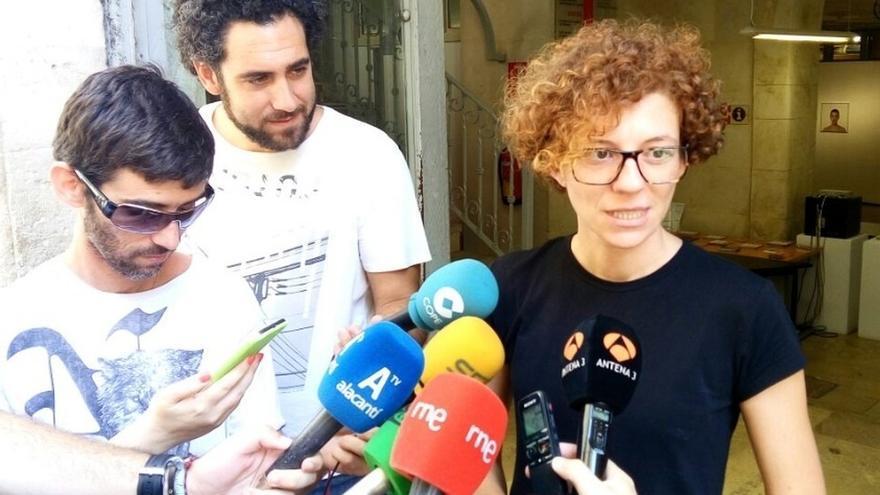 "La edil de Guanyar Alacant cree que la polémica por sus mensajes en internet se ha ""salido de madre"""