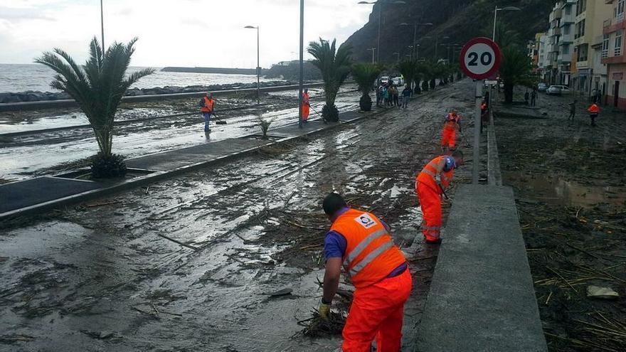 Inundaciones en Tenerife.
