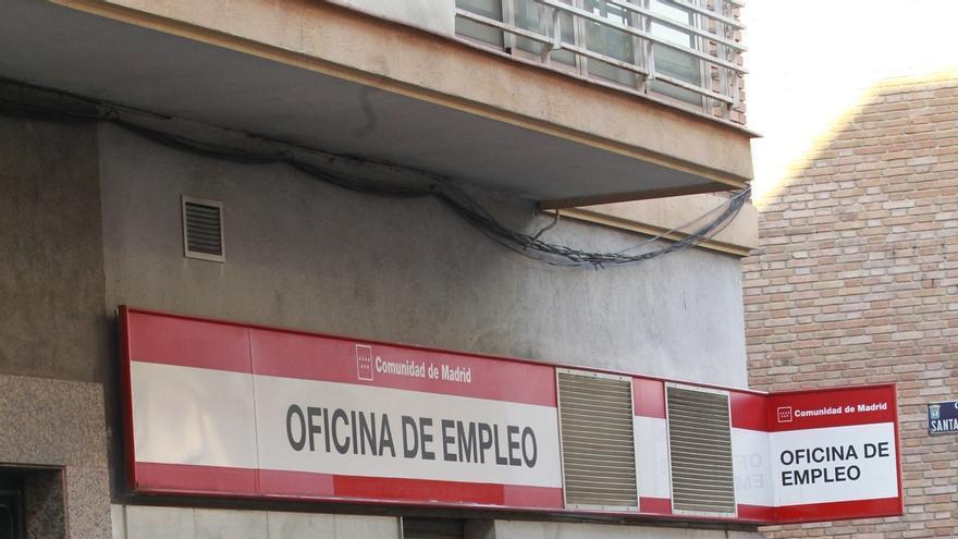 Imagen de archivo de una oficina pública de empleo en la Comunidad de Madrid.