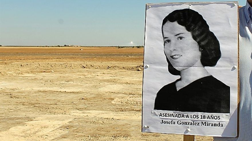"""Una de las """"niñas"""" ejecutadas por franquistas en el cortijo de El Aguaucho.   JUAN MIGUEL BAQUERO"""