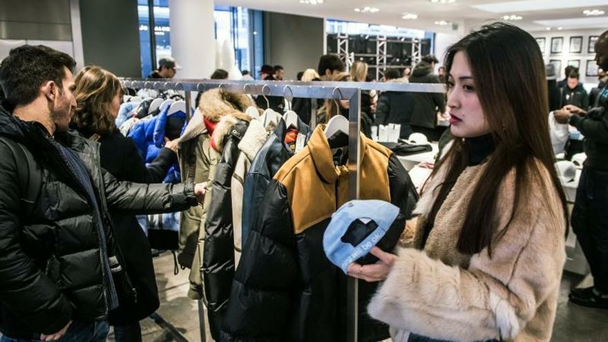 Sólo la mitad de las empresas españolas de moda creció en 2018, según un estudio.