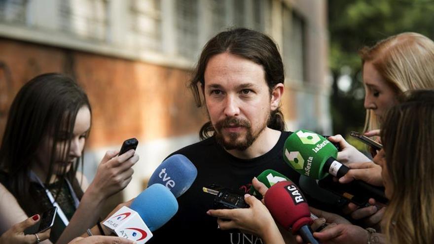 """Iglesias: """"Las corrientes no pueden ser partidos dentro del partido"""""""