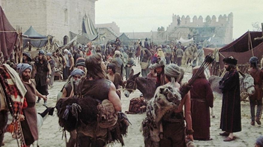 Escena de Conan, el bárbaro, en la Alcazaba.
