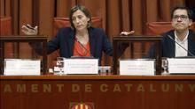 Carme Forcadell, en su etapa de presidenta del Parlament