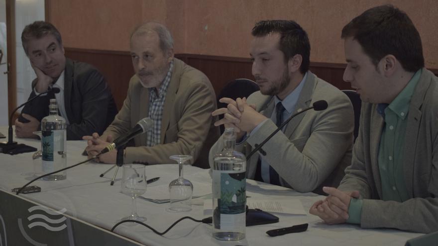 Ponentes en la primera jornada contra la huella de carbono en Caudete