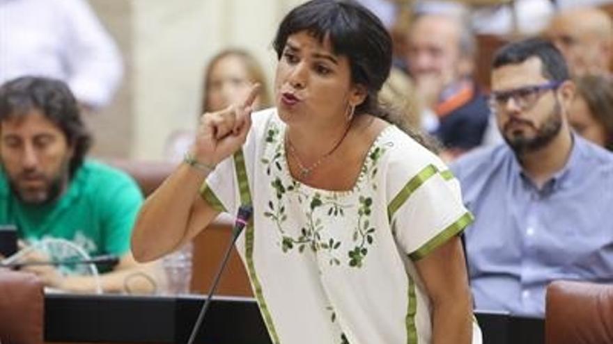 """Teresa Rodríguez replica a Susana Díaz: """"En Castilla La Mancha, para ser palmeros, montamos un tablado"""""""