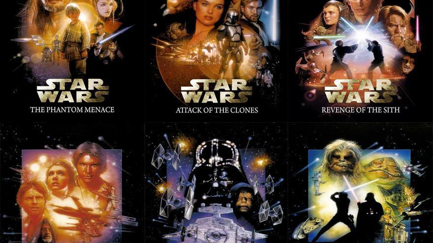 Las seis películas realizadas hasta la fecha