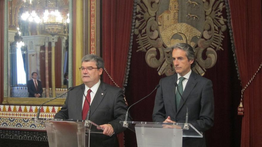 Ayuntamiento de Bilbao y Fomento crean un grupo de trabajo para dar una solución a la integración ferroviaria de Zorroza