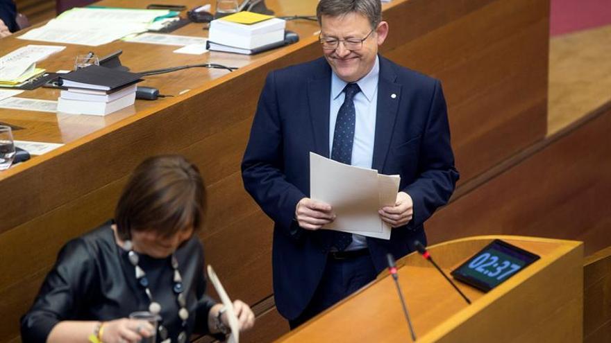 Puig espera que se corrija la discriminación presupuestaria a la Comunidad Valenciana
