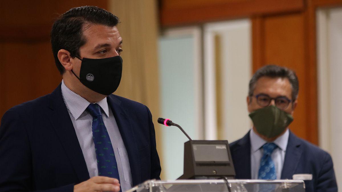 El alcalde, José María Bellido, en el Ayuntamiento este martes.