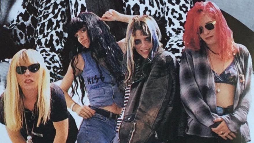 TEMANC. L7 en Vogue, 1992.