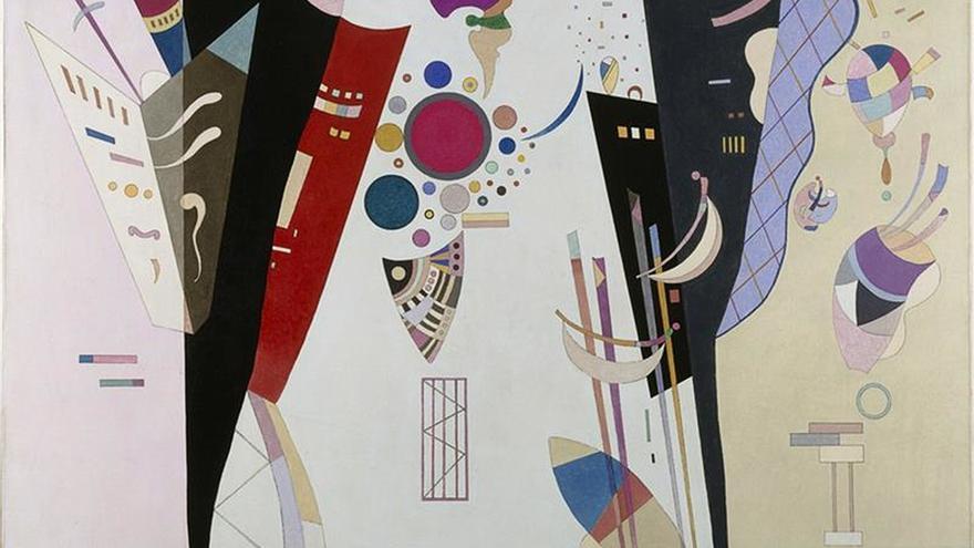 Los últimos años de Kandinsky brillan en una muestra en Grenoble
