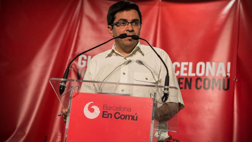 Gerardo Pisarello valora los resultados de BComú. /ENRIC CATALÀ