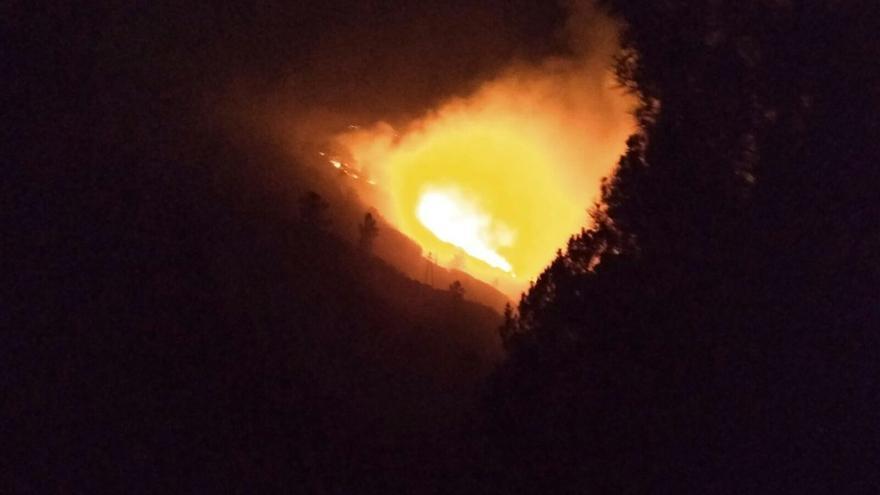 Incendio en Pantón (Lugo)