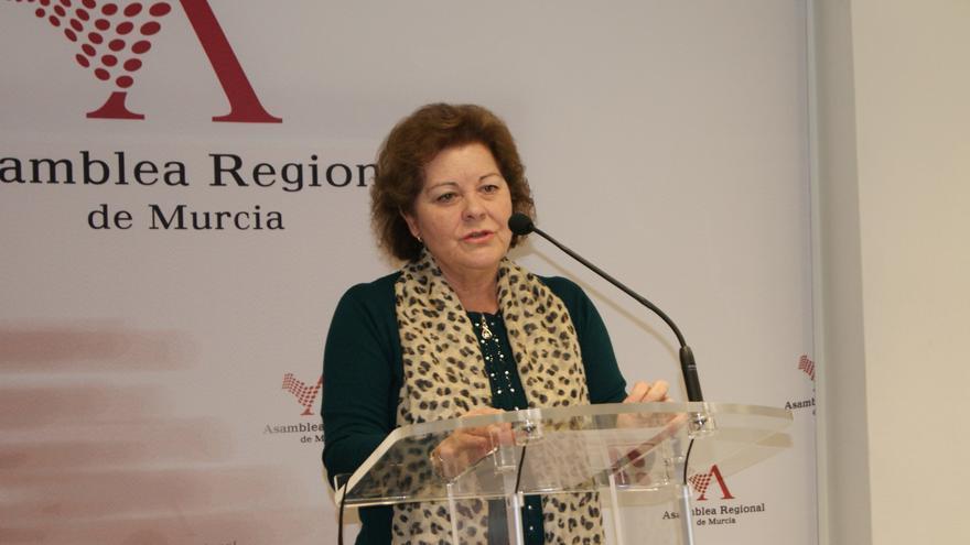 Teresa Rosique, responsable de Sanidad del Grupo Parlamentario Socialista en la Asamblea Regional de Murcia