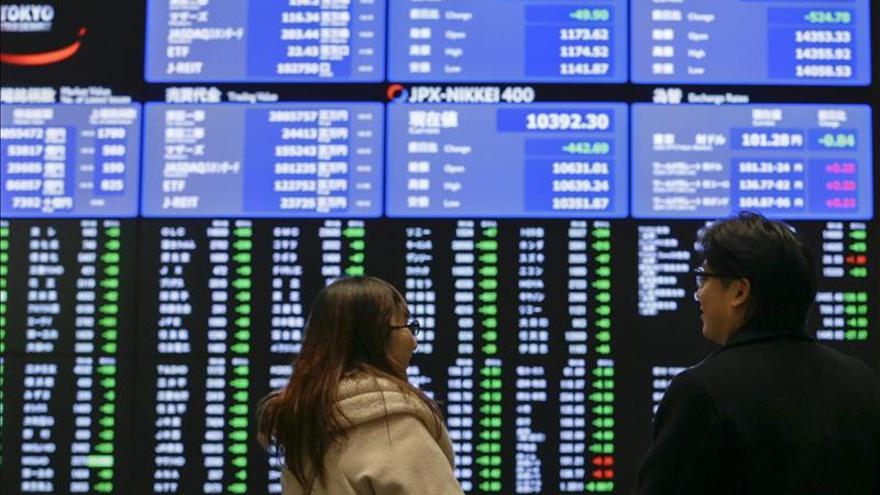 El Nikkei sube un 0,63 por ciento hasta los 19.694,44 puntos