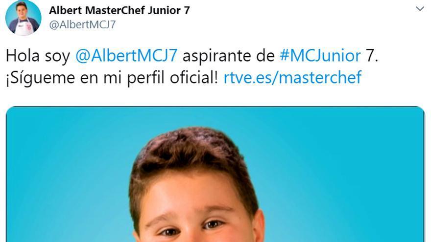 Twitter de Albert