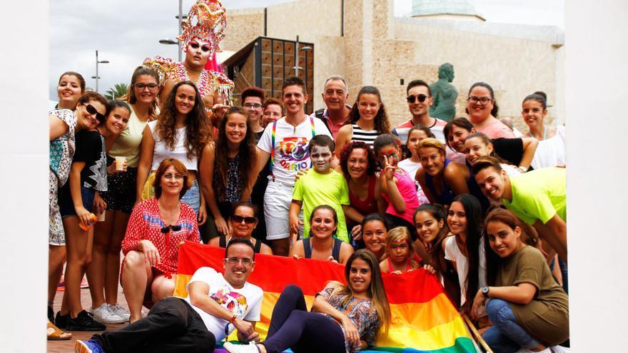 I Feria contra la Homofobia, Transfobia y Bifobia de Las Palmas de Gran Canaria