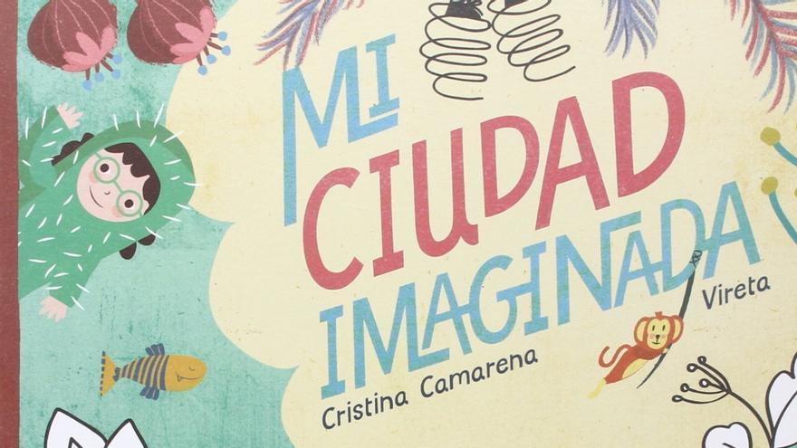 """Portada de """"Mi ciudad imaginada""""."""